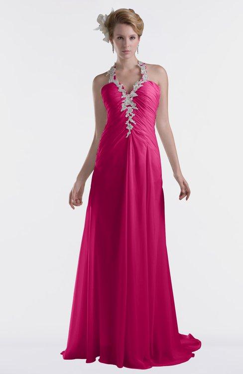 ColsBM Eden Beetroot Purple Cinderella A-line Sweetheart Sleeveless Criss-cross Straps Brush Train Plus Size Bridesmaid Dresses