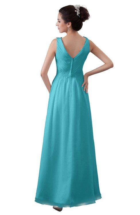 ColsBM Kalani Turquoise Bridesmaid Dresses - ColorsBridesmaid