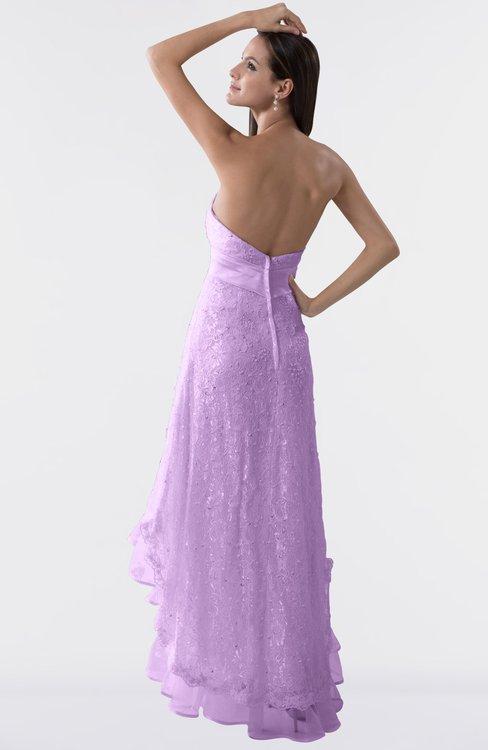 163f405ca9d ... ColsBM Isabel Begonia Simple A-line Zipper Tea Length Paillette Plus  Size Bridesmaid Dresses