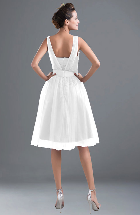 ColsBM Ashley White Bridesmaid Dresses - ColorsBridesmaid