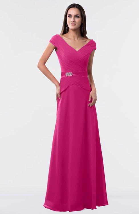 ColsBM Madelyn Cabaret Informal A-line Portrait Zipper Floor Length Ruching Plus Size Bridesmaid Dresses