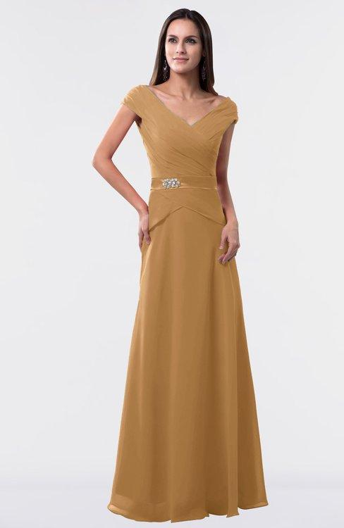 ColsBM Madelyn Doe Informal A-line Portrait Zipper Floor Length Ruching Plus Size Bridesmaid Dresses