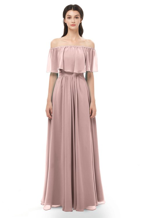 Colsbm Hana Blush Pink Bridesmaid Dresses Colorsbridesmaid