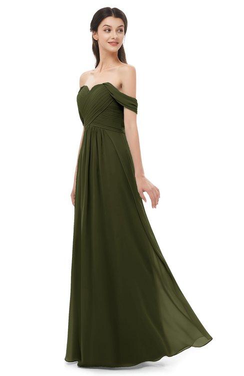 ColsBM Sylvia Beech Bridesmaid Dresses Mature Floor Length Sweetheart Ruching A-line Zip up