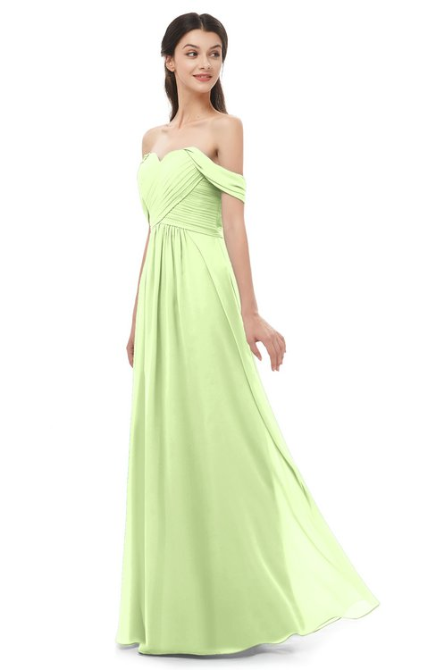 ColsBM Sylvia Butterfly Bridesmaid Dresses Mature Floor Length Sweetheart Ruching A-line Zip up