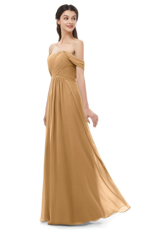 ColsBM Sylvia Doe Bridesmaid Dresses Mature Floor Length Sweetheart Ruching A-line Zip up