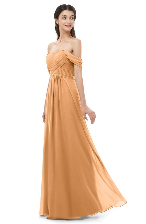 ColsBM Sylvia Pheasant Bridesmaid Dresses Mature Floor Length Sweetheart Ruching A-line Zip up