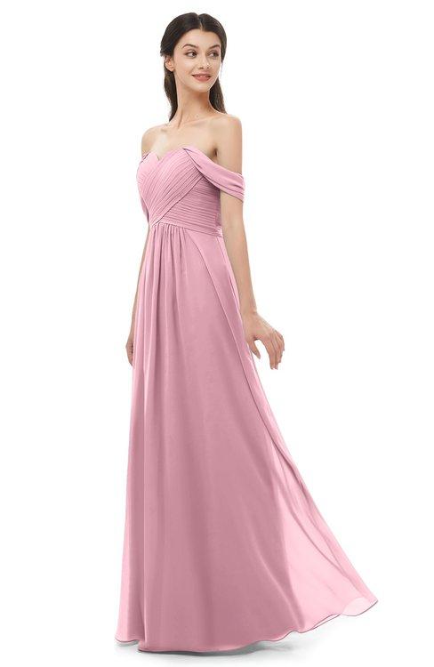 ColsBM Sylvia Rosebloom Bridesmaid Dresses Mature Floor Length Sweetheart Ruching A-line Zip up