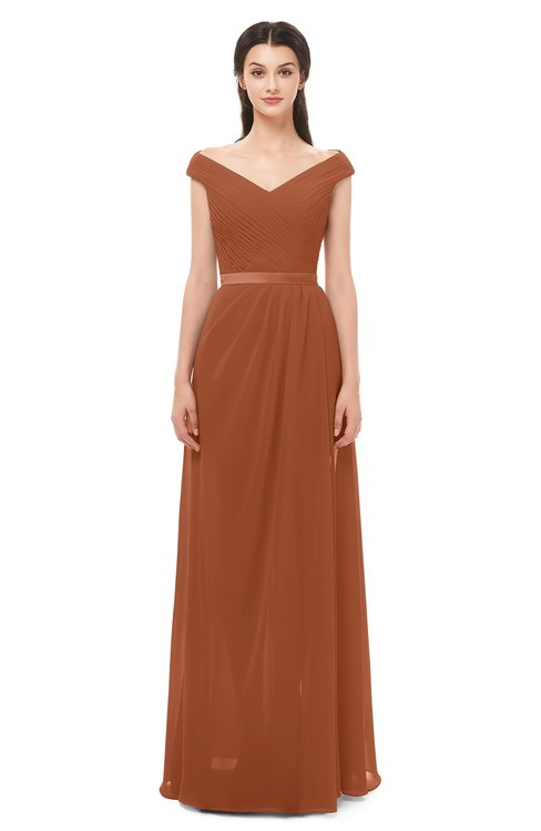 Colsbm Ariel Bombay Brown Bridesmaid Dresses -2999