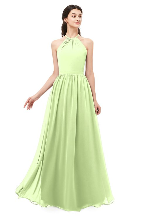 ColsBM Irene Butterfly Bridesmaid Dresses Sleeveless Halter Criss-cross Straps Sexy A-line Sash