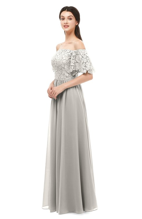 ColsBM Ingrid Ashes Of Roses Bridesmaid Dresses Half Backless Glamorous A-line Strapless Short Sleeve Pleated