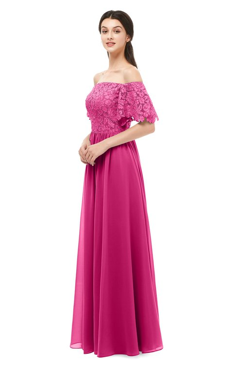 ColsBM Ingrid Cabaret Bridesmaid Dresses Half Backless Glamorous A-line Strapless Short Sleeve Pleated