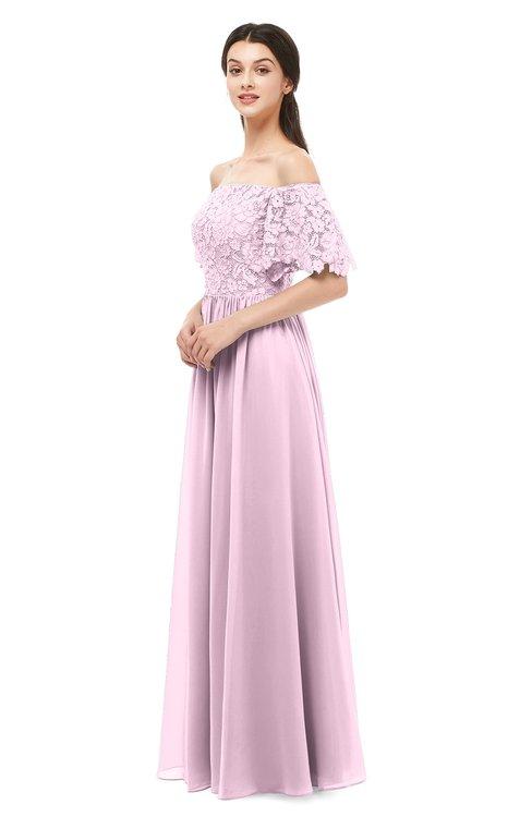 ColsBM Ingrid Fairy Tale Bridesmaid Dresses Half Backless Glamorous A-line Strapless Short Sleeve Pleated