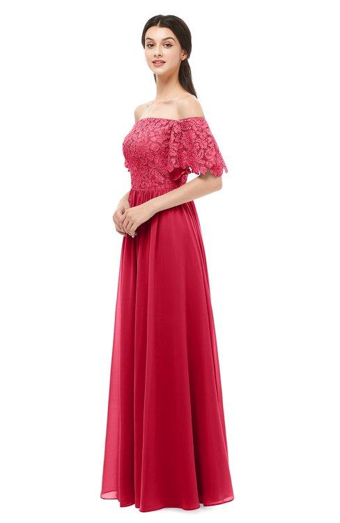 ColsBM Ingrid Lollipop Bridesmaid Dresses Half Backless Glamorous A-line Strapless Short Sleeve Pleated