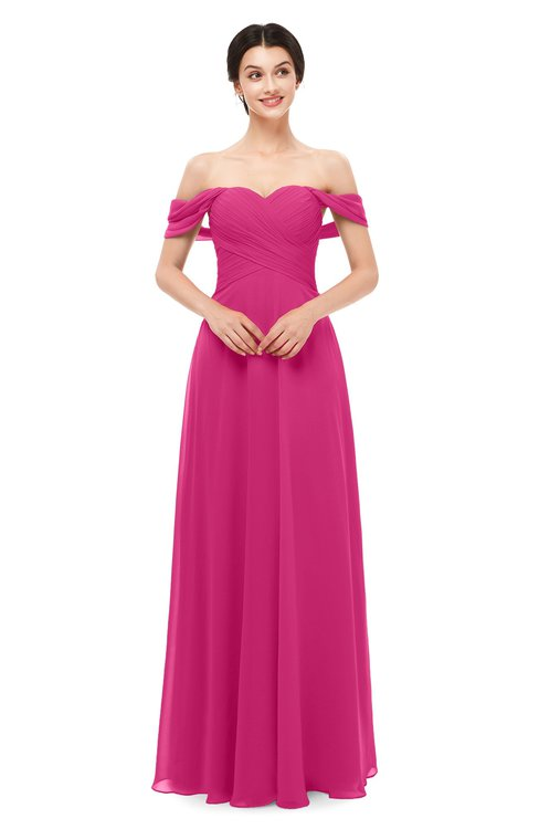 ColsBM Lydia Cabaret Bridesmaid Dresses Sweetheart A-line Floor Length Modern Ruching Short Sleeve