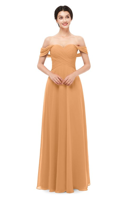 ColsBM Lydia Pheasant Bridesmaid Dresses Sweetheart A-line Floor Length Modern Ruching Short Sleeve