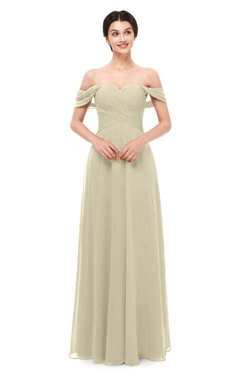 ColsBM Lydia Putty Bridesmaid Dresses Sweetheart A-line Floor Length Modern Ruching Short Sleeve