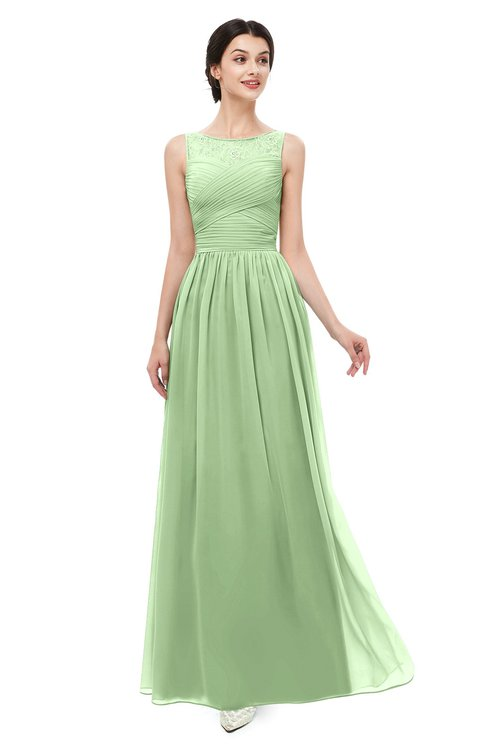 ColsBM Skyler Gleam Bridesmaid Dresses Sheer A-line Sleeveless Classic Ruching Zipper
