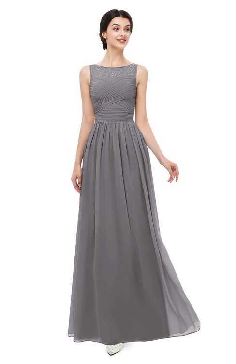 ColsBM Skyler Storm Front Bridesmaid Dresses Sheer A-line Sleeveless Classic Ruching Zipper