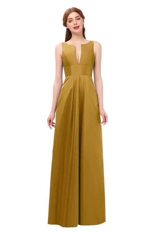 Yellow Bridesmaid Dresses Harvest Gold