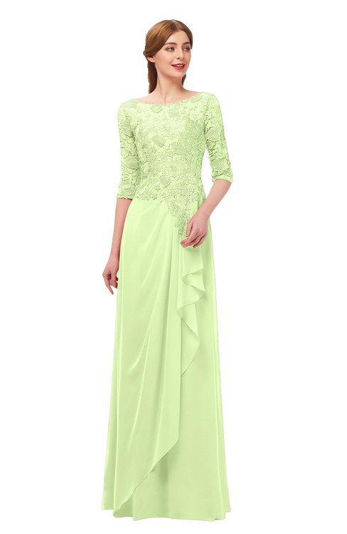 ColsBM Jody Butterfly Bridesmaid Dresses Elbow Length Sleeve Simple A-line Floor Length Zipper Lace