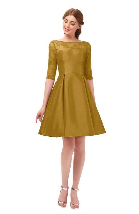 Yellow Bridesmaid Dresses Harvest Gold