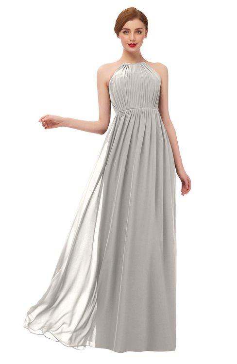 ColsBM Peyton Hushed Violet Bridesmaid Dresses Pleated Halter Sleeveless Half Backless A-line Glamorous
