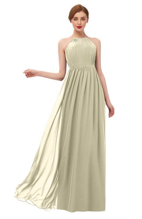 ColsBM Peyton Putty Bridesmaid Dresses Pleated Halter Sleeveless Half Backless A-line Glamorous