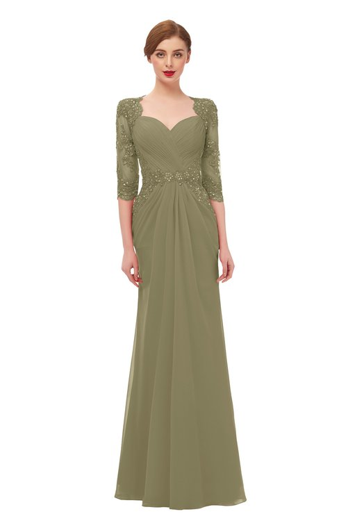 ColsBM Bronte Boa Bridesmaid Dresses Elbow Length Sleeve Pleated Mermaid Zipper Floor Length Glamorous