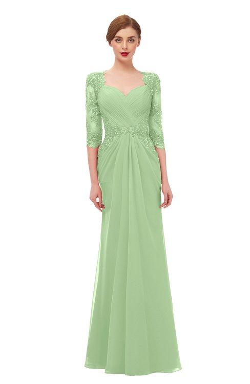ColsBM Bronte Gleam Bridesmaid Dresses Elbow Length Sleeve Pleated Mermaid Zipper Floor Length Glamorous