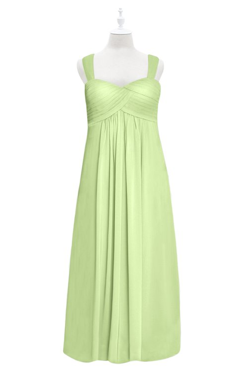 ColsBM Naya Butterfly Plus Size Bridesmaid Dresses A-line Floor Length Zipper Casual Sleeveless Ruching