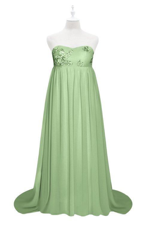 ColsBM Milania Gleam Plus Size Bridesmaid Dresses Sweetheart Sleeveless Empire Pleated Backless Gorgeous