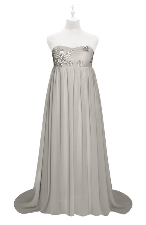 ColsBM Milania Hushed Violet Plus Size Bridesmaid Dresses Sweetheart Sleeveless Empire Pleated Backless Gorgeous
