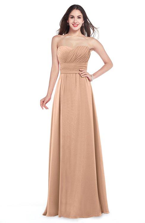 Pink Bridesmaid Dresses Burnt Orange color Long & Pink Gowns ...