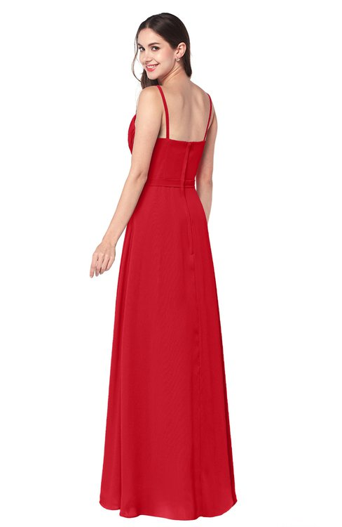 Sexy Red Bridesmaid Dresses