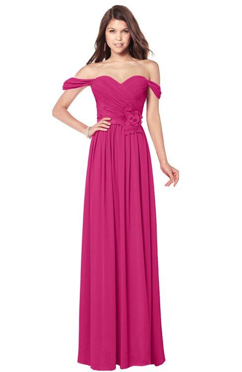 ColsBM Kaolin Cabaret Bridesmaid Dresses A-line Floor Length Zip up Short Sleeve Appliques Gorgeous