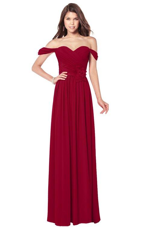 ColsBM Kaolin Scooter Bridesmaid Dresses A-line Floor Length Zip up Short Sleeve Appliques Gorgeous