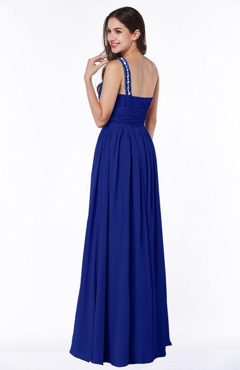 Colsbm Nova Nautical Blue Bridesmaid Dresses Colorsbridesmaid