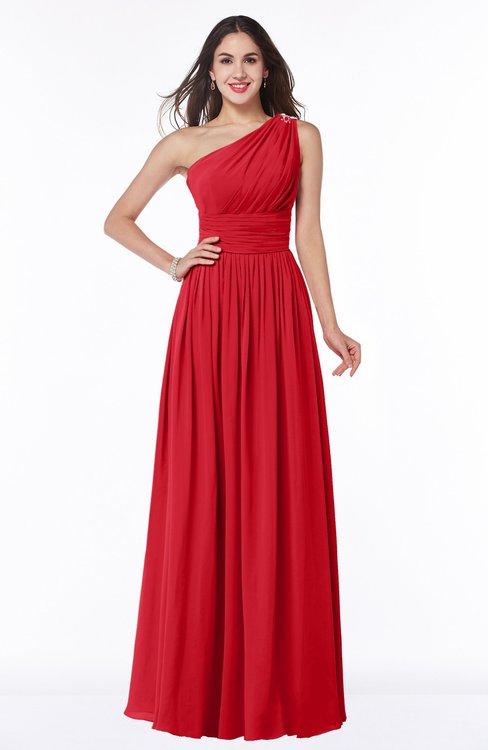 Colsbm Nova Red Bridesmaid Dresses Colorsbridesmaid