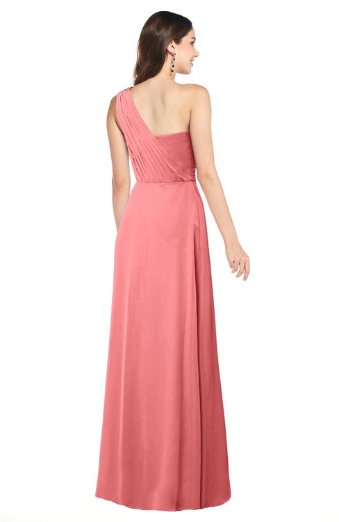 Colsbm Aislinn Coral Bridesmaid Dresses Colorsbridesmaid