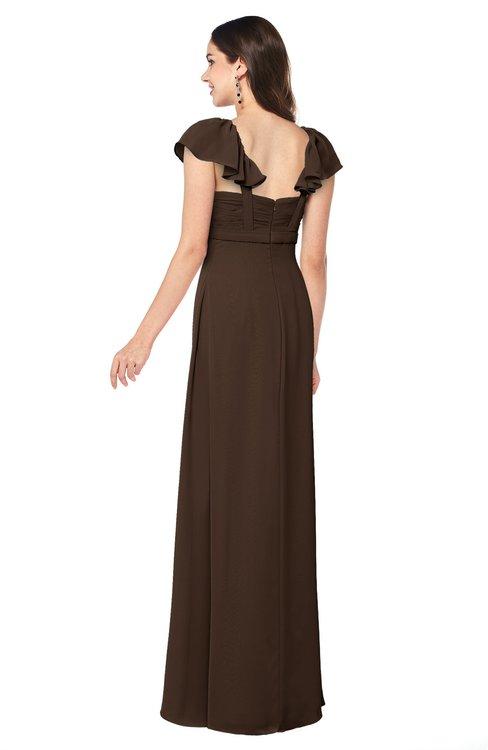Colsbm Karla Copper Bridesmaid Dresses Colorsbridesmaid