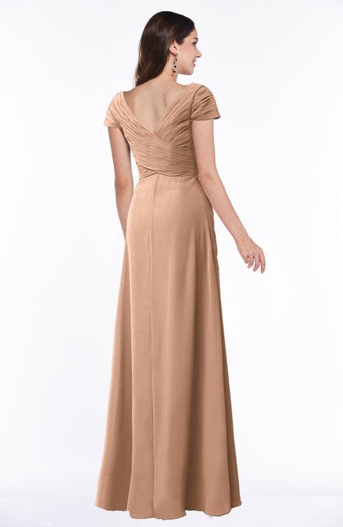 Colsbm Evie Burnt Orange Bridesmaid Dresses Colorsbridesmaid