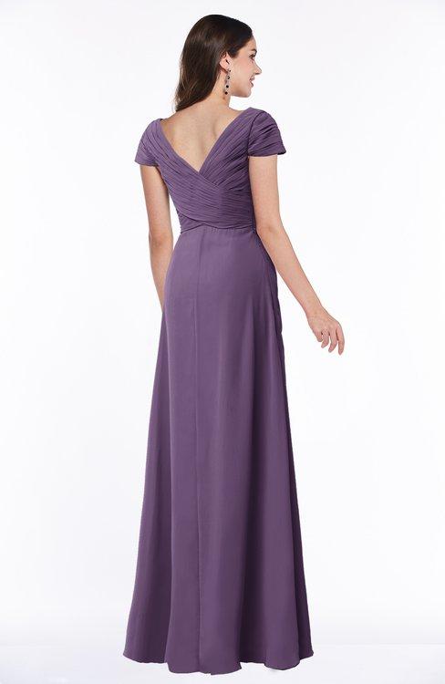 Colsbm Evie Chinese Violet Bridesmaid Dresses Colorsbridesmaid