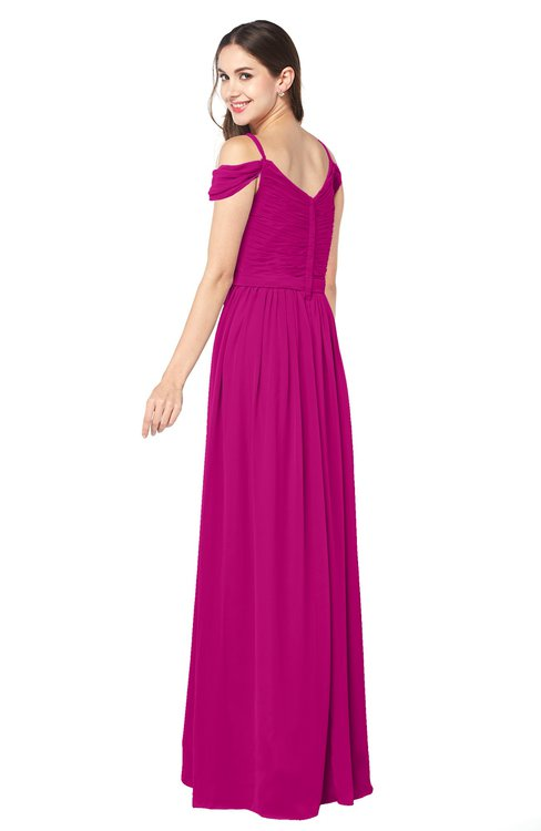 Colsbm Susan Hot Pink Bridesmaid Dresses Colorsbridesmaid