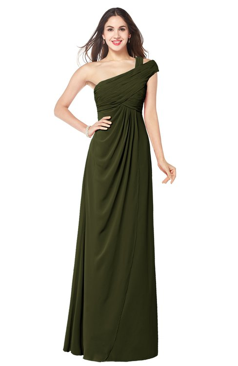 ColsBM Bethany Beech Modern A-line Sleeveless Chiffon Floor Length Plus Size Bridesmaid Dresses