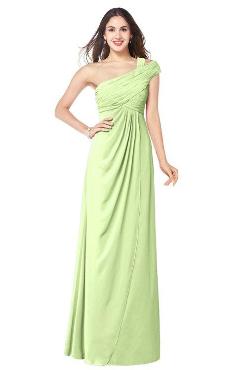 ColsBM Bethany Butterfly Modern A-line Sleeveless Chiffon Floor Length Plus Size Bridesmaid Dresses