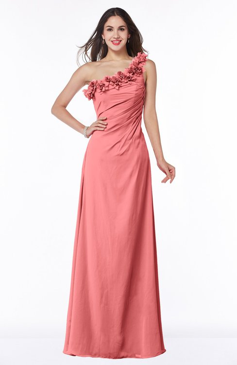 Colsbm Nola Coral Bridesmaid Dresses Colorsbridesmaid