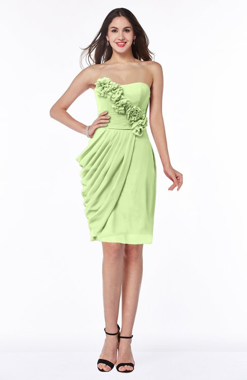 ColsBM Aylin Butterfly Elegant Column Sleeveless Half Backless Chiffon Plus Size Bridesmaid Dresses