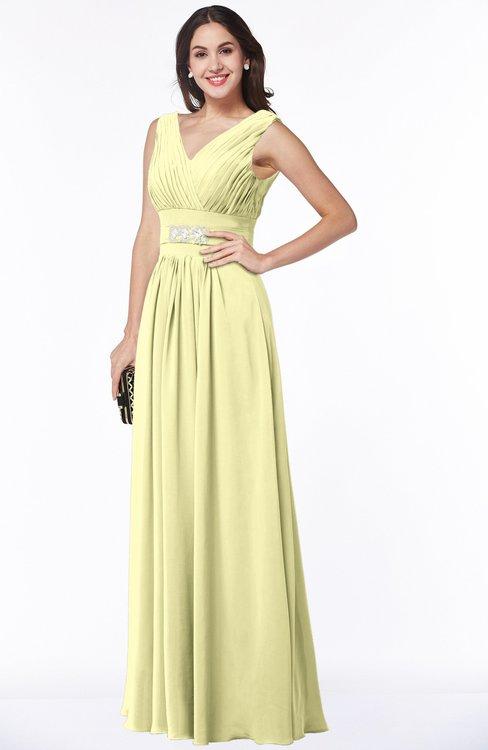 Colsbm Melina Wax Yellow Bridesmaid Dresses Colorsbridesmaid