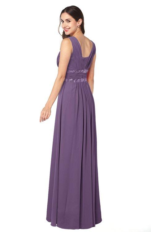Colsbm Kelly Chinese Violet Bridesmaid Dresses Colorsbridesmaid